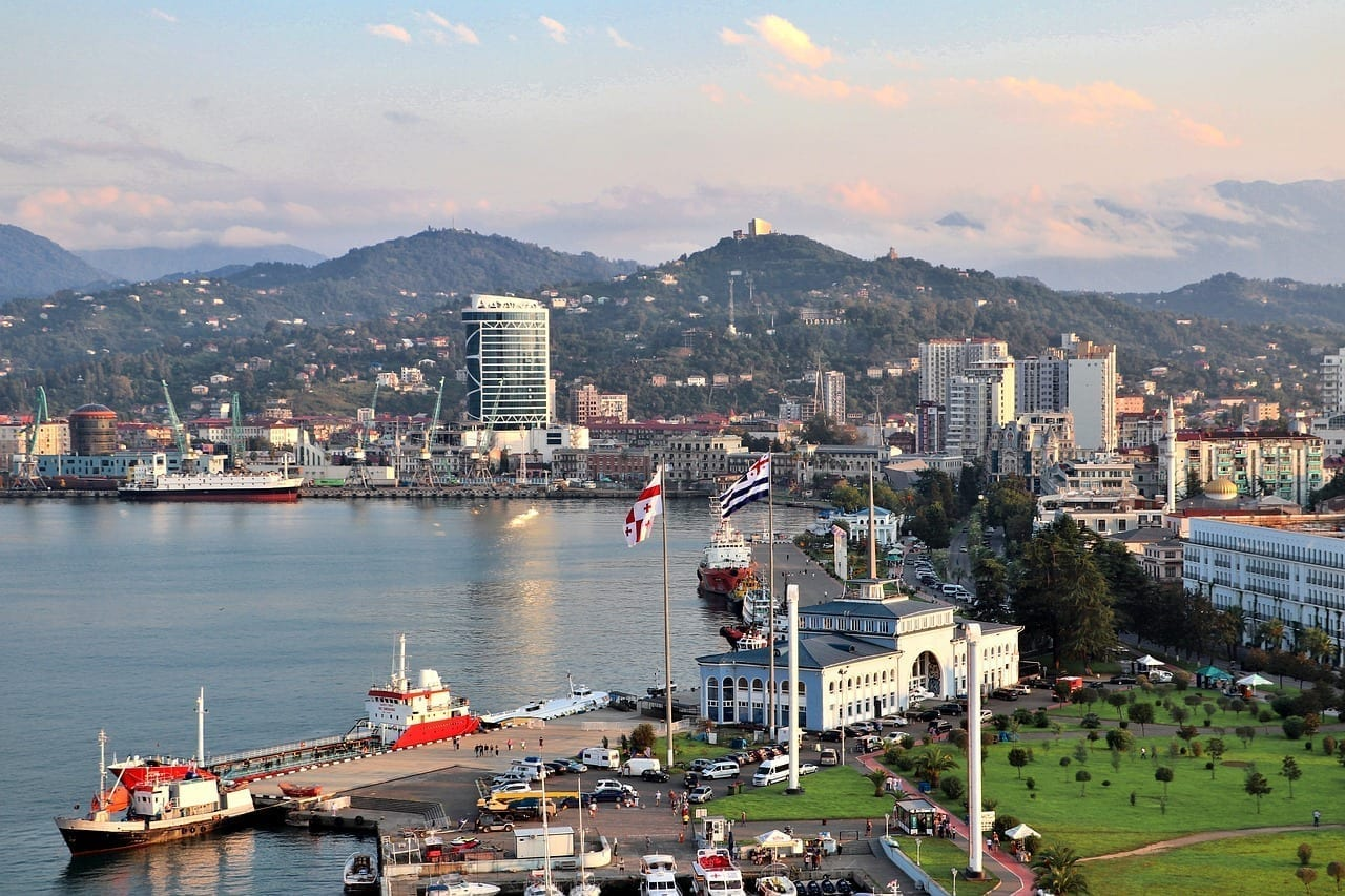 Batumi Puerto Mar Georgia