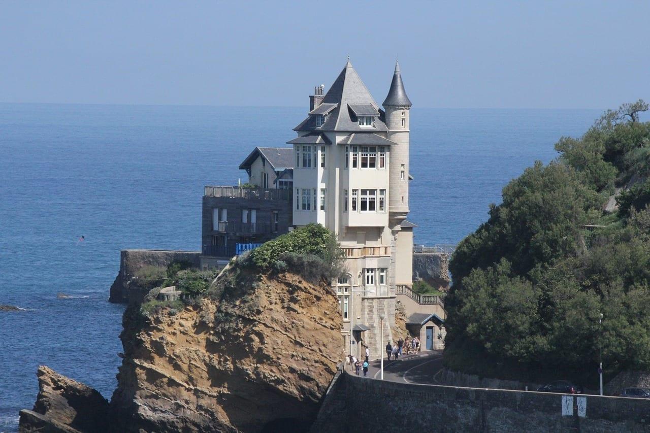 Biarritz Arquitectura Villa Belza Francia