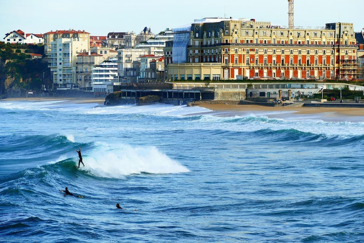 Biarritz Mar Océano Francia