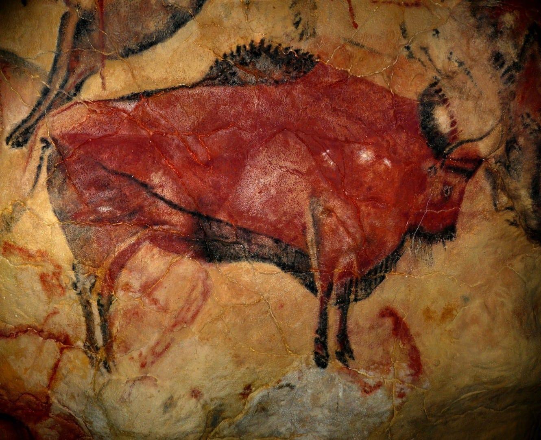 Bisonte en la cueva de Altamira Santillana del Mar España