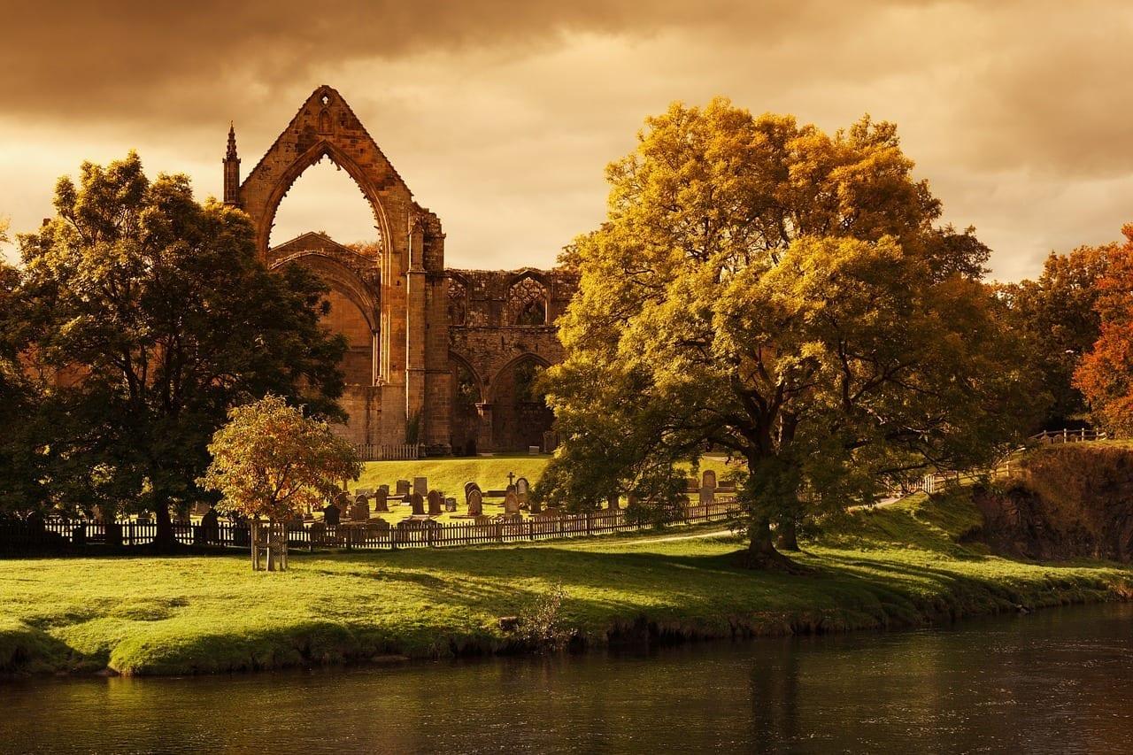 Bolton Abbey Antigua Arquitectura Reino Unido