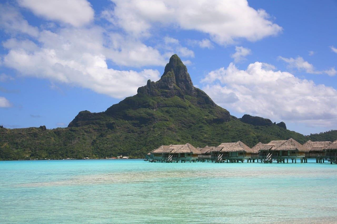 Bora Bora Tahití Atolón Polinesia Francesa