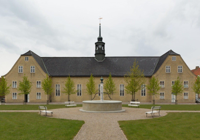 Brødremenighedskirken (Iglesia de la Hermandad), Christiansfeld Kolding Dinamarca