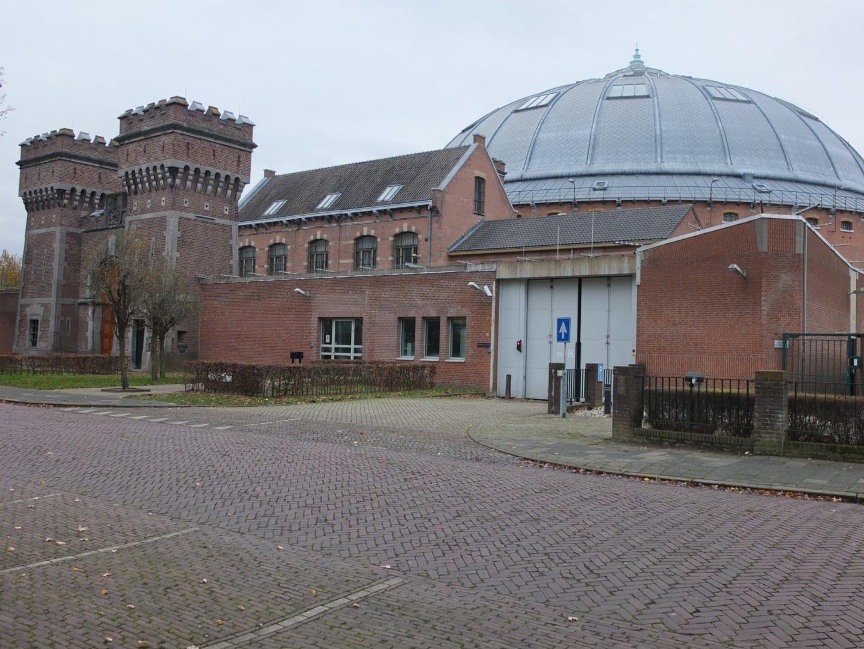 Cúpula de la prisión vista desde el Nassausingel Breda Países Bajos