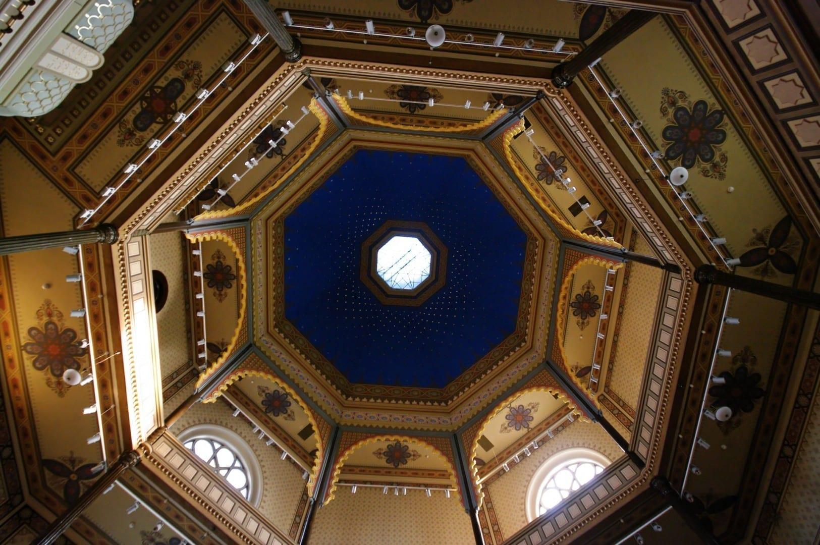 Cúpula, Sinagoga Győr Gyor Hungría
