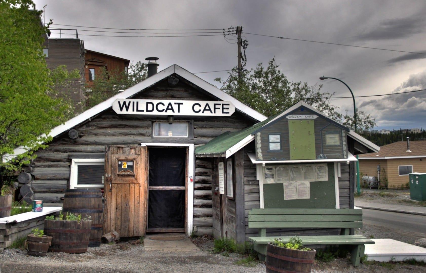 Café Wildcat Yellowknife Canadá