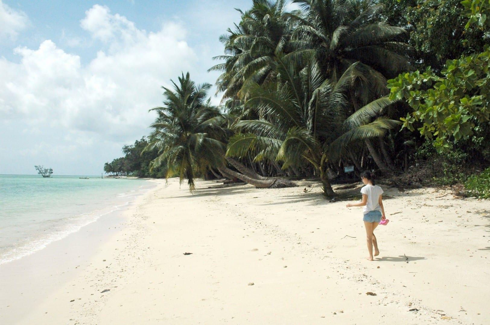 Caminando en la playa #5 Havelock India