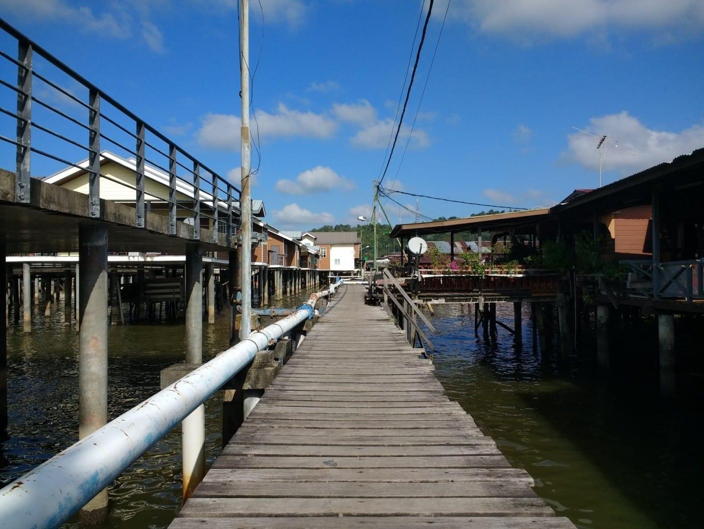 Caminando por el Pueblo del Agua Bandar Seri Begawan Brunei