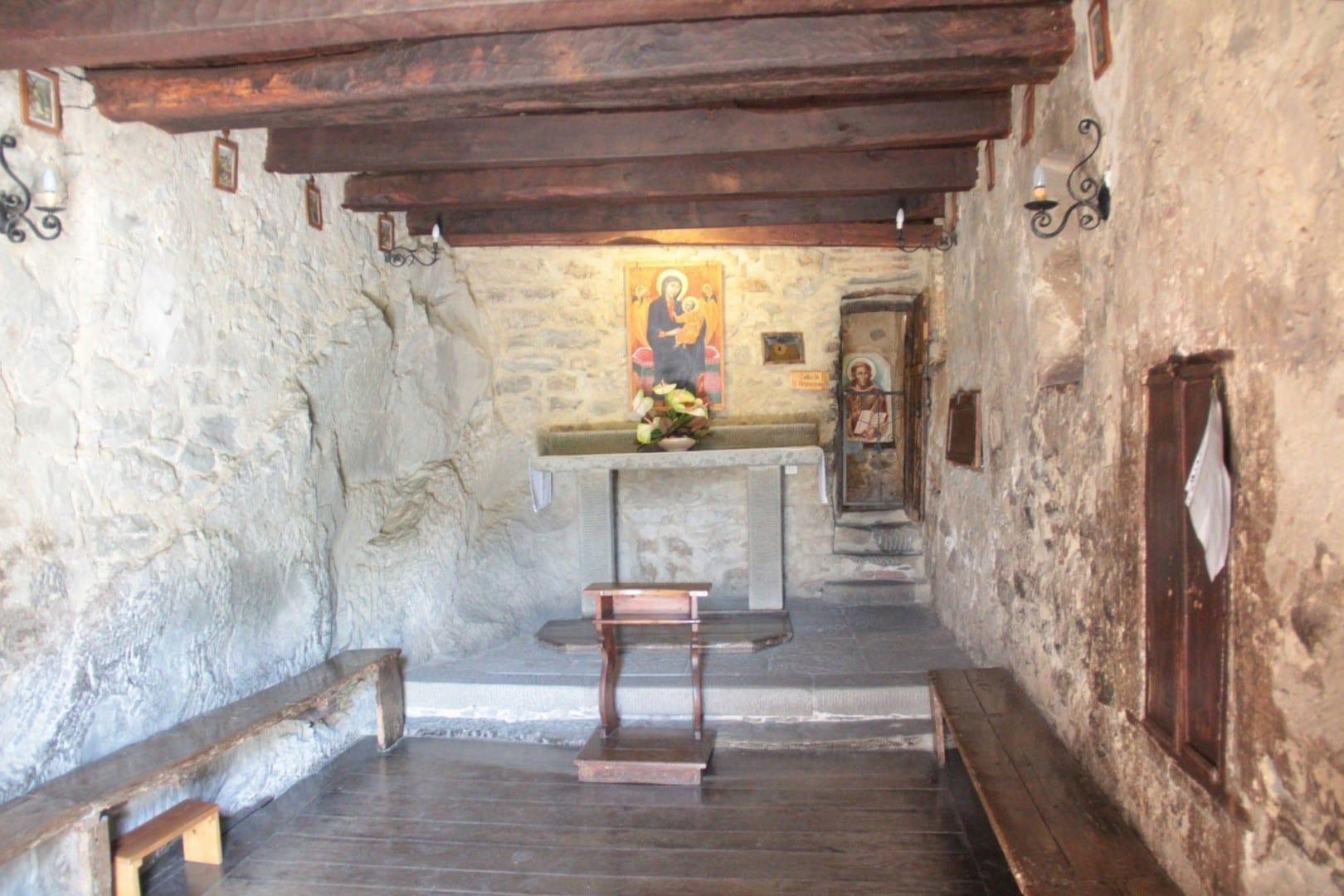 capilla en Le Celle Cortona Italia