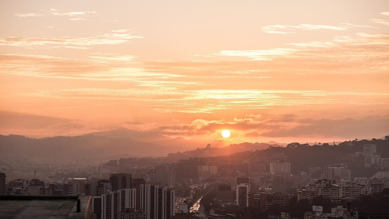 Caracas Venezuela Puesta De Sol Venezuela