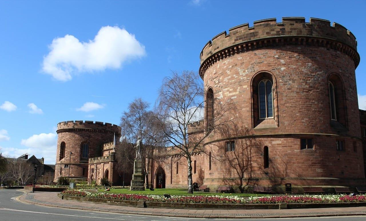 Carlisle Ciudadela Cumbria Reino Unido