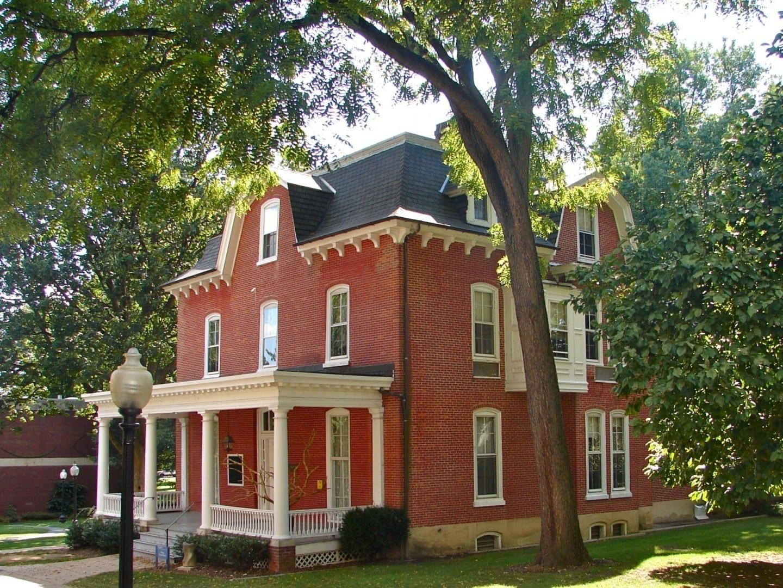 Casa de ex-alumnos de Huegel en el distrito histórico del campus de Franklin y Marshall Lancaster, Pensilvania Estados Unidos