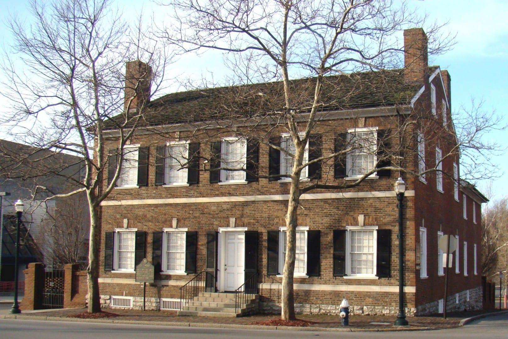 Casa Mary Todd Lincoln, hogar de la infancia de la esposa del presidente Lincoln. Lexington KY Estados Unidos