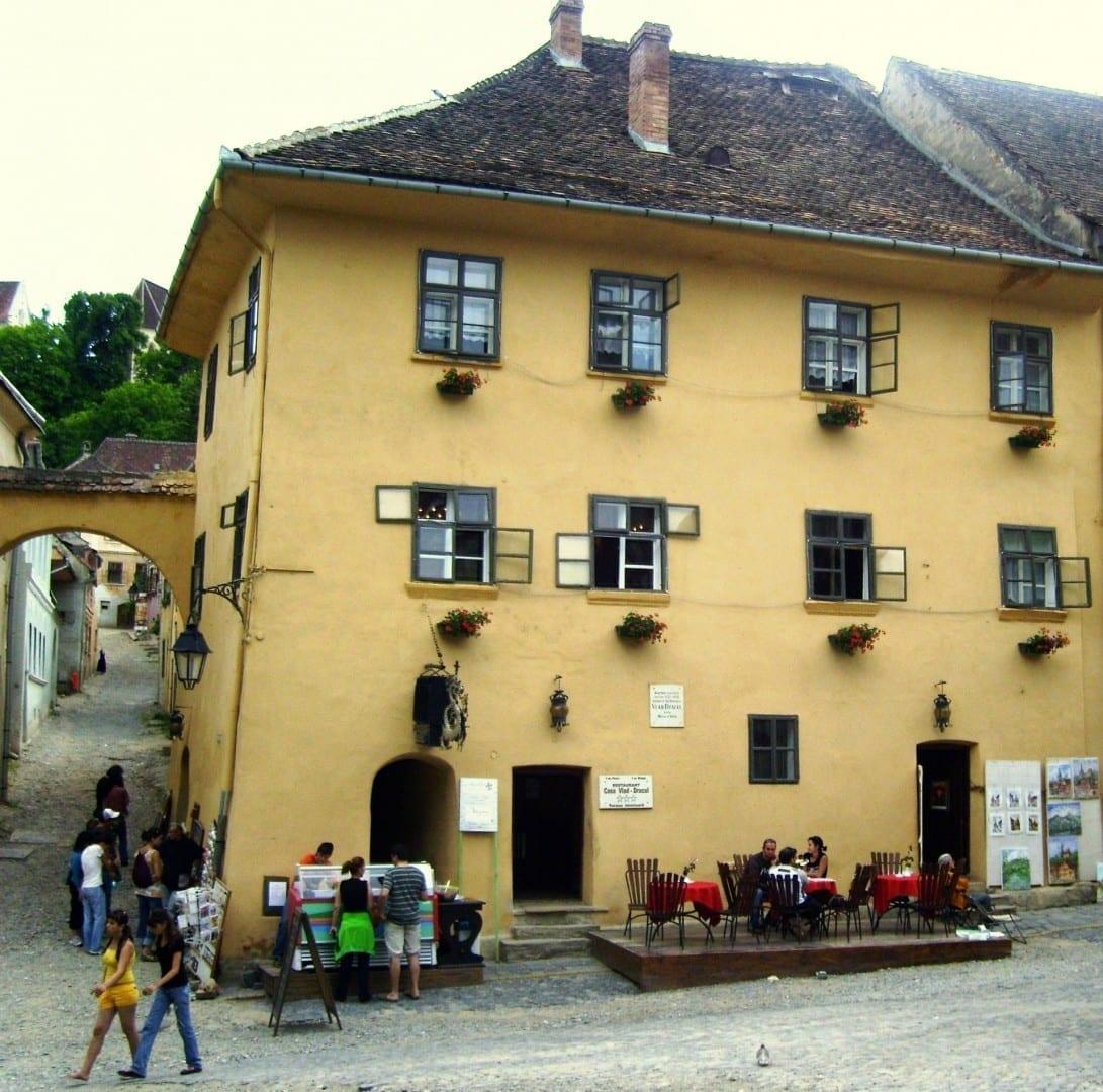 Casa natal de Vlad Țepeș Drácula Sighișoara Rumania