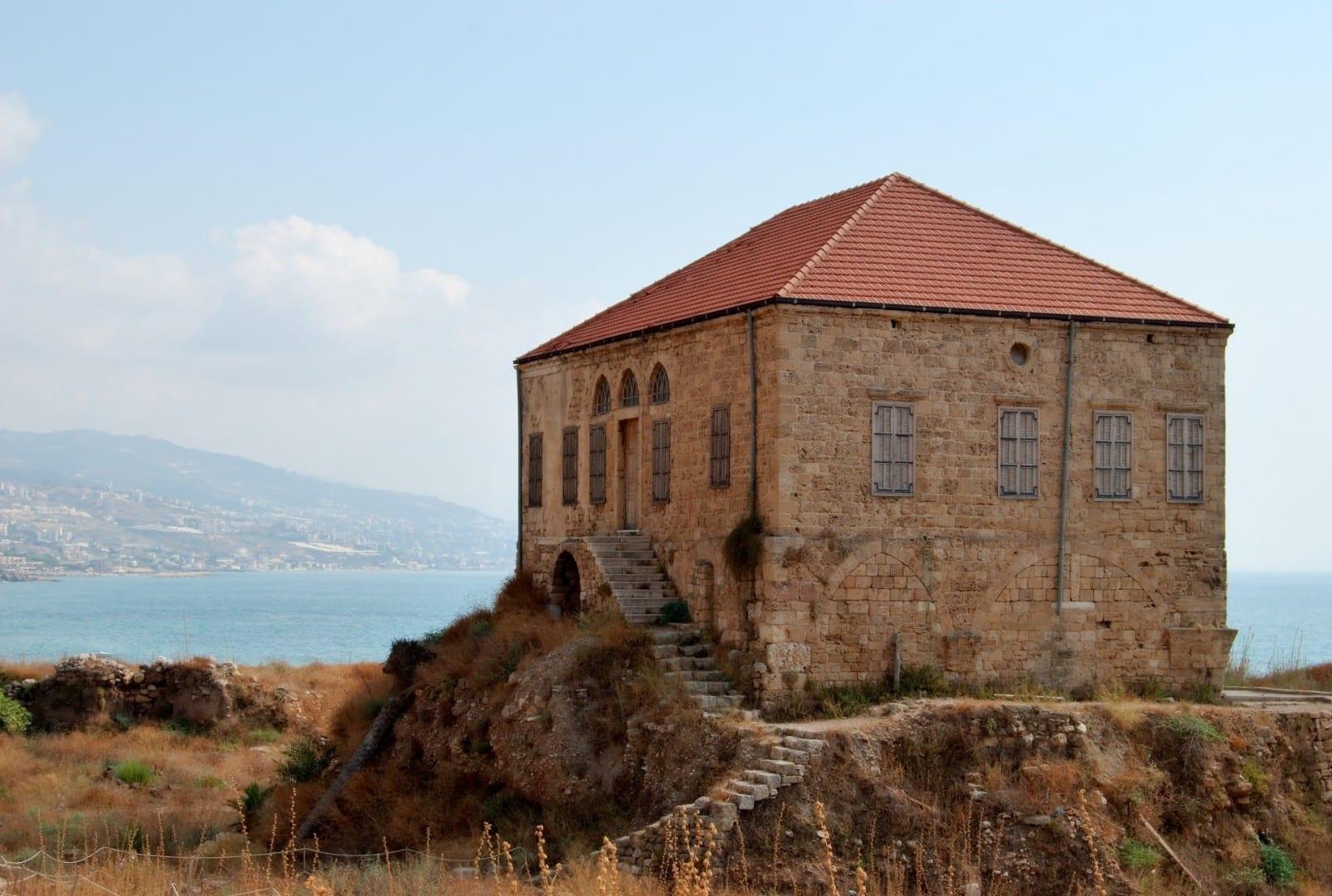 Casa tradicional libanesa Biblos Líbano