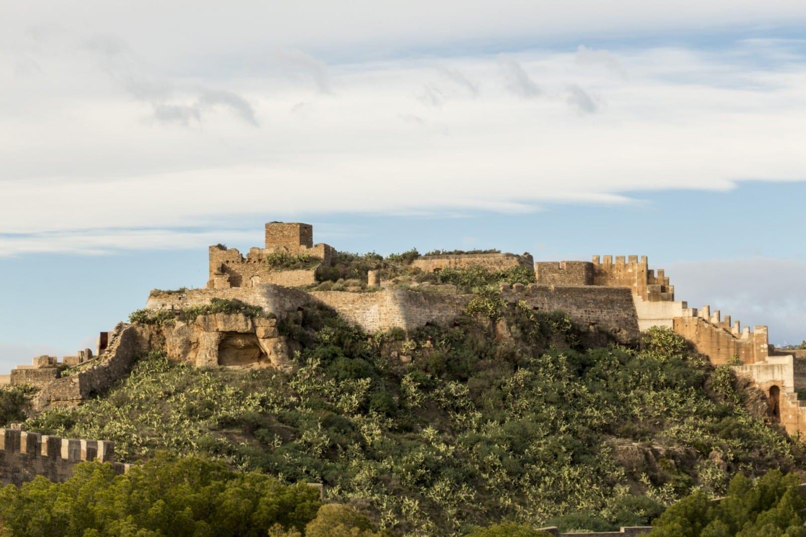 Castell de Sagunt Puerto de Sagunto España