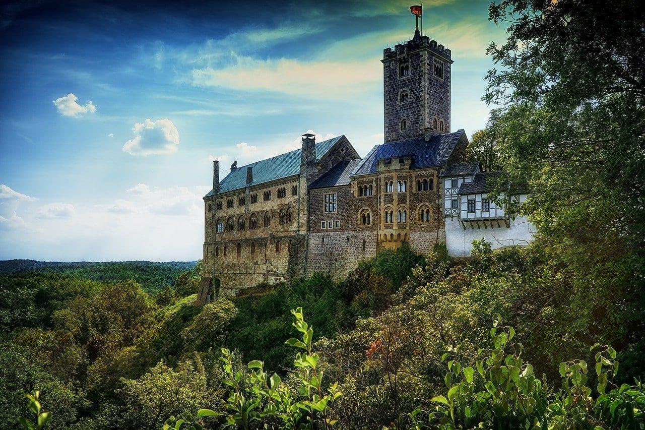 Castillo Castillo De Wartburg Eisenach Alemania