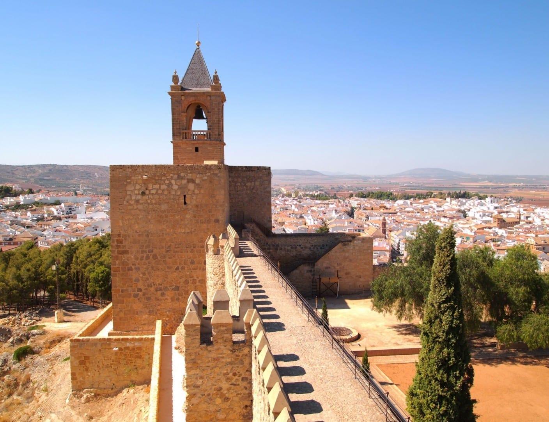 Castillo de Antequera Antequera España