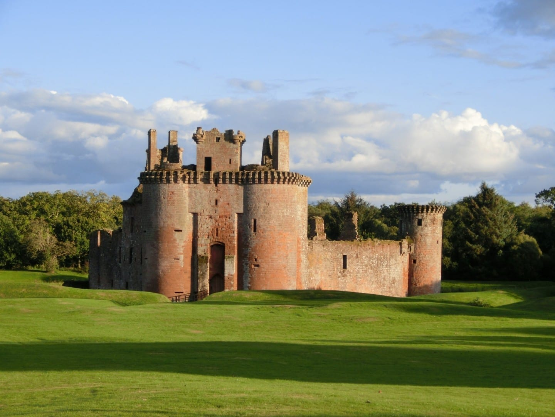 Castillo de Caerlaverock Dumfries Reino Unido