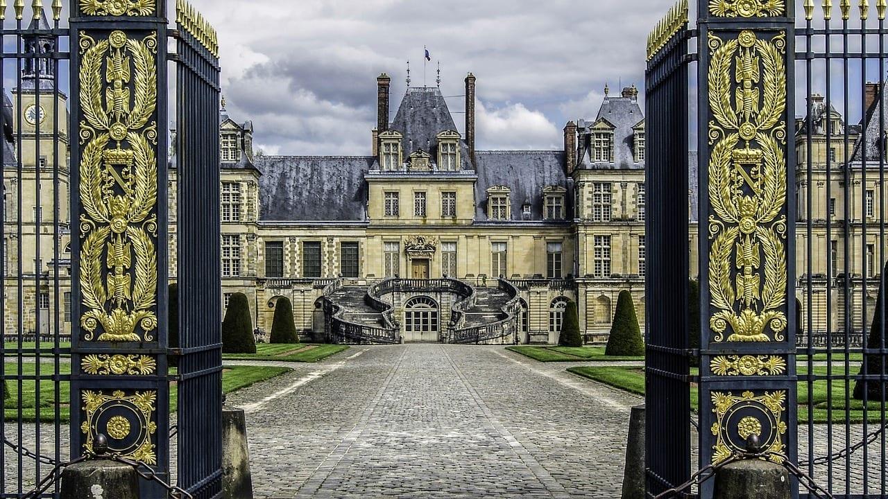 Castillo De Fontainebleau Residencia Royal Francia