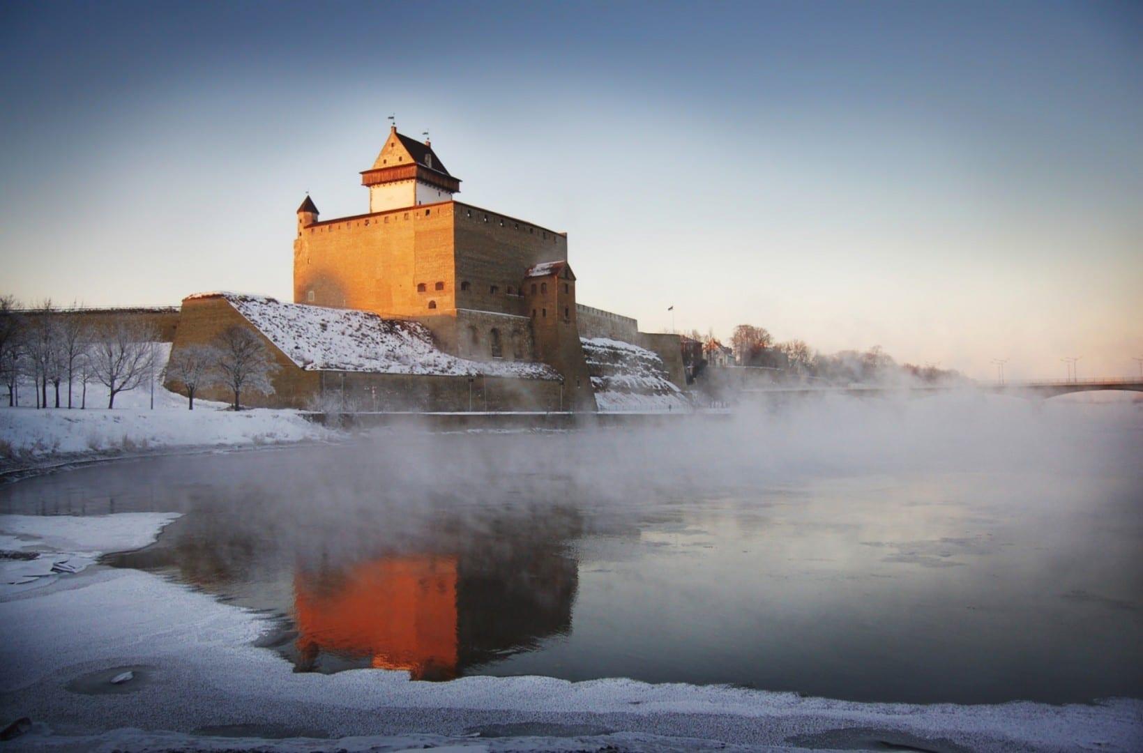 Castillo de Hermann Narva Estonia