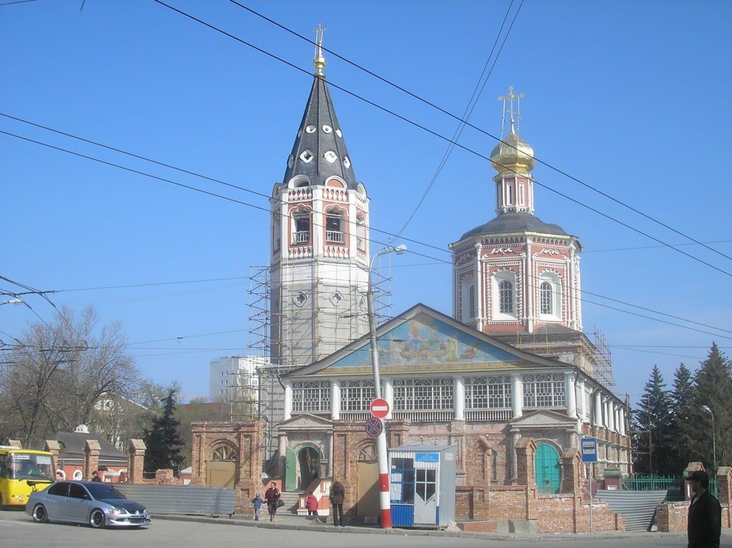 Catedral de la Trinidad en la calle Moskovskaya Saratov Rusia
