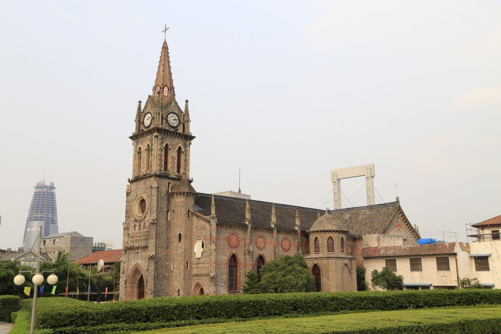Catedral de Nuestra Señora de los Siete Dolores (江北岸圣母七苦主教座堂) Ningbo China