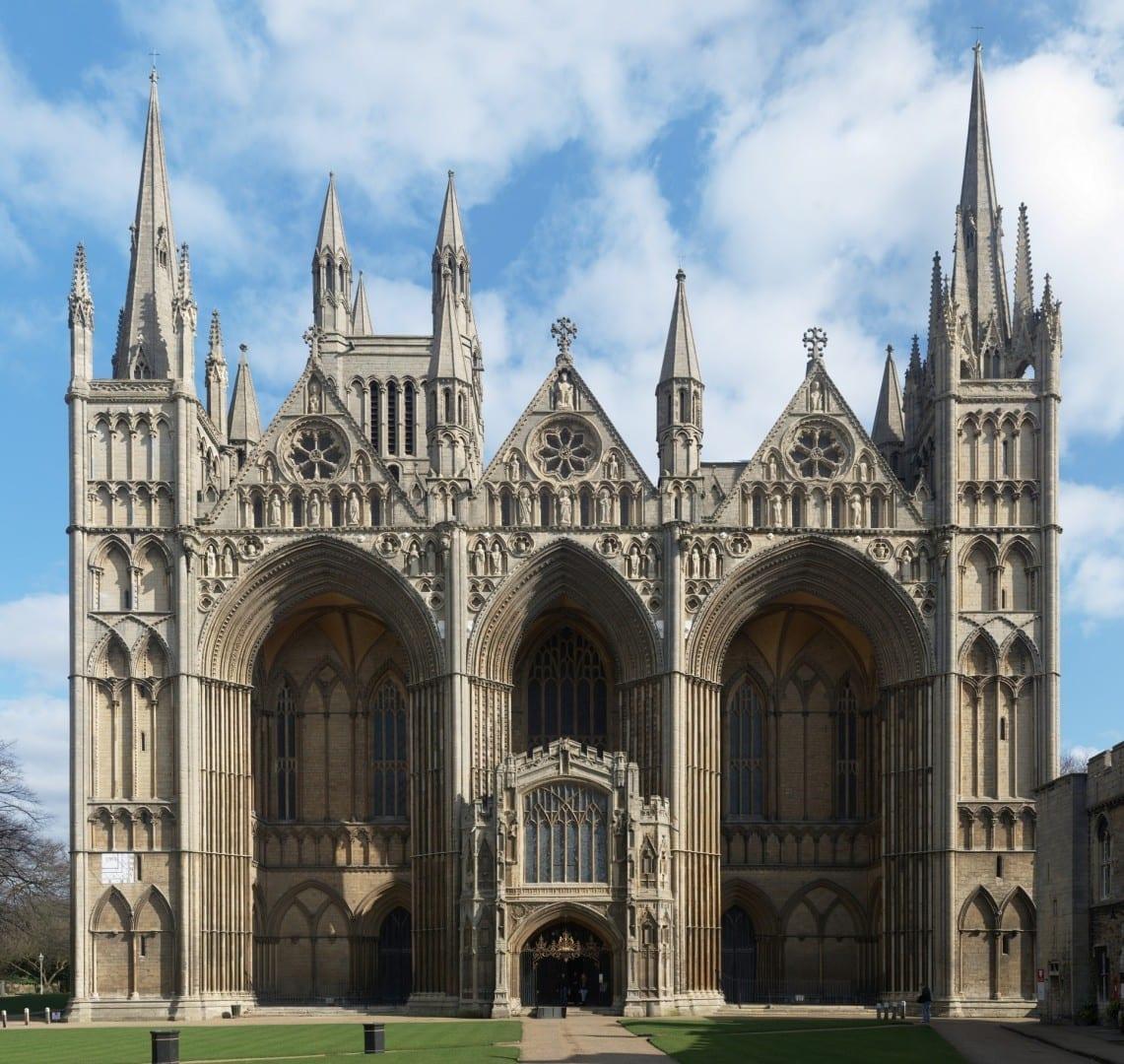 Catedral de Peterborough Peterborough Reino Unido