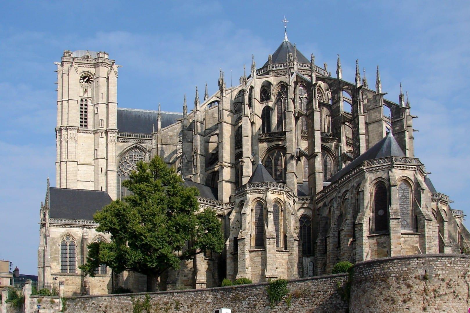 Catedral de San Julián en Le Mans Le Mans Francia