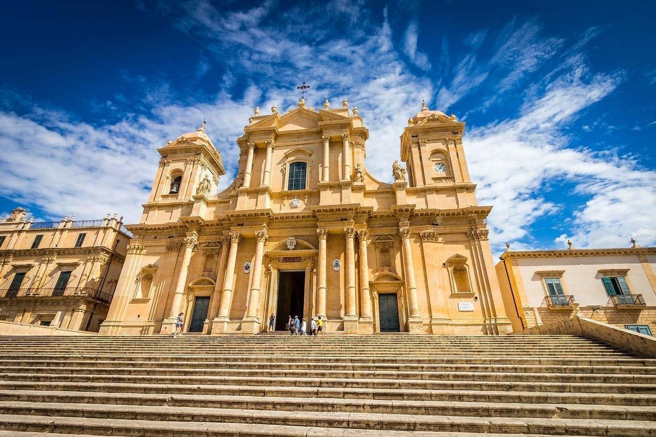 Catedral Noto Sicilia Italia
