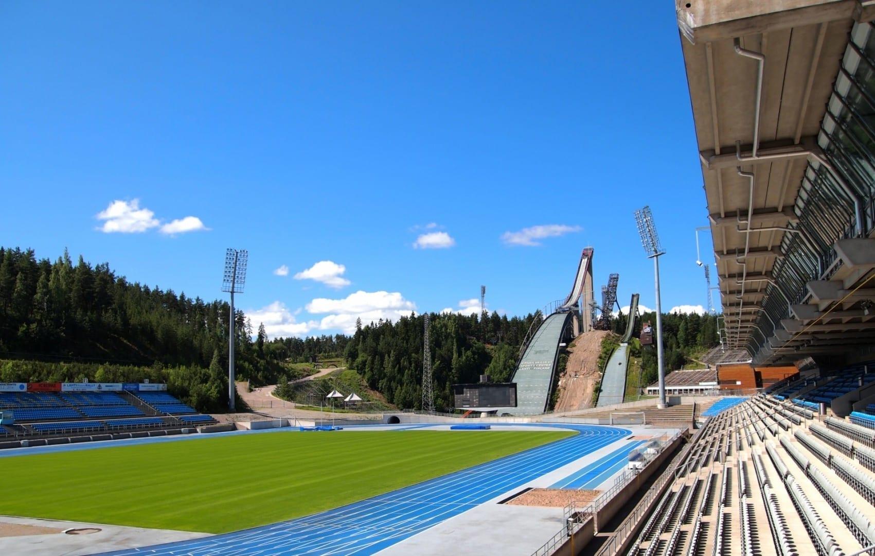 Centro de Deportes de Lahti Lahti Finlandia