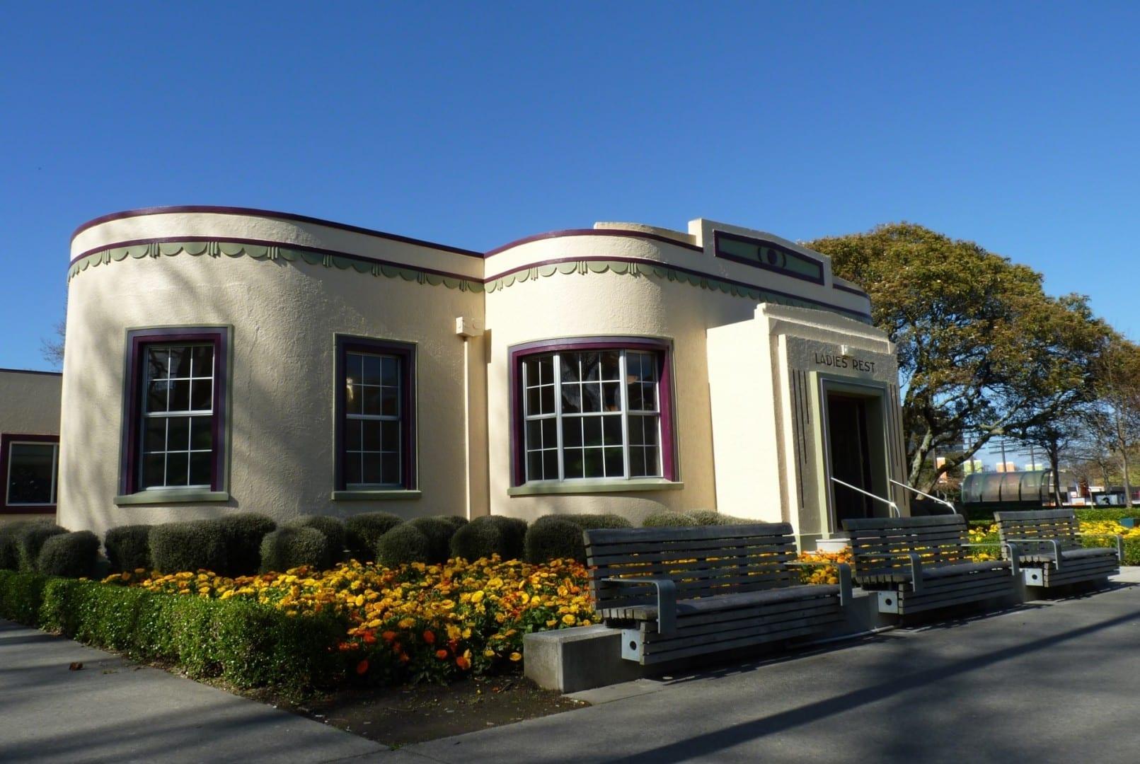 Centro de información Palmerston north Nueva Zelanda