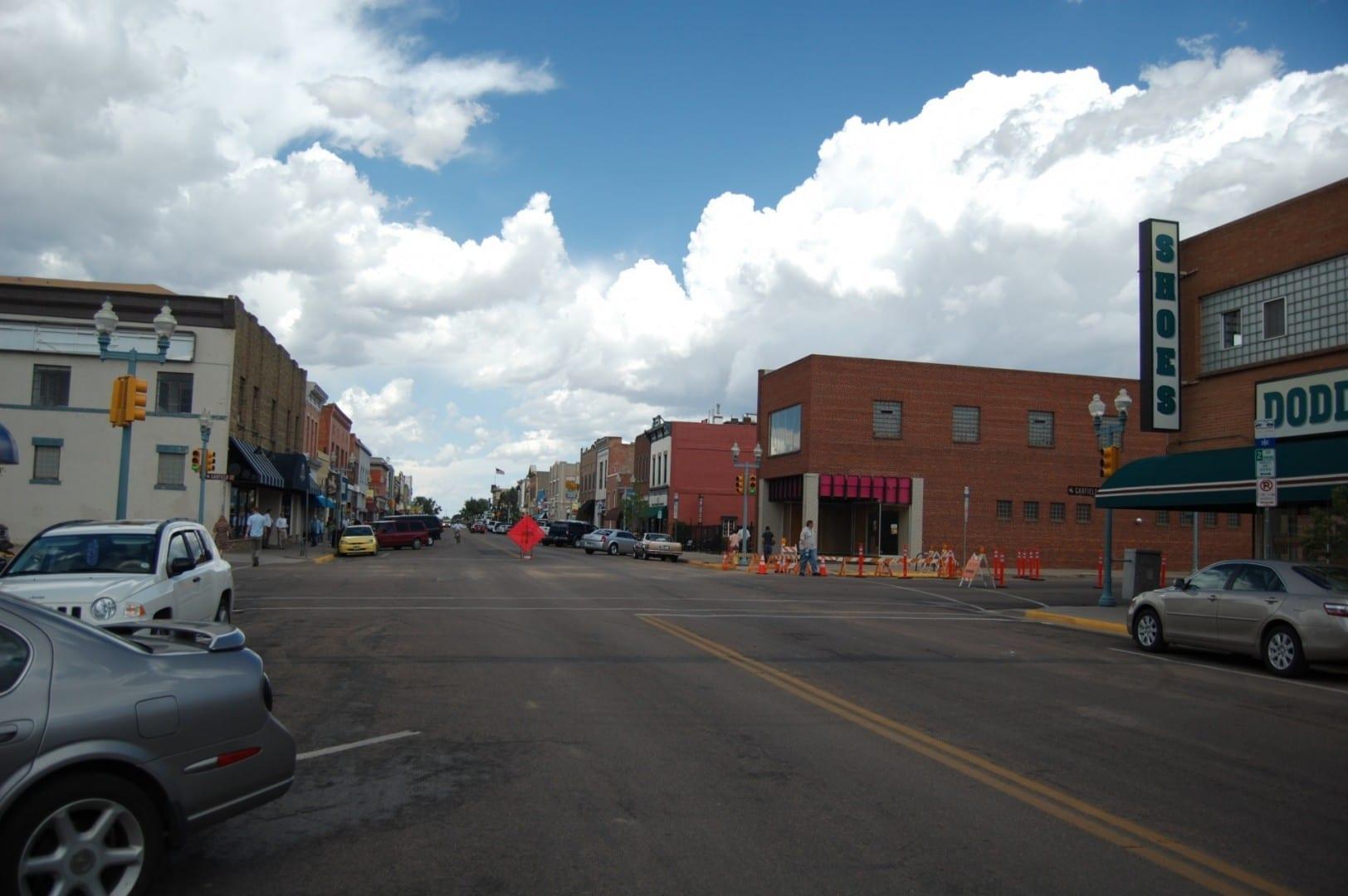 Centro de Laramie Laramie WY Estados Unidos