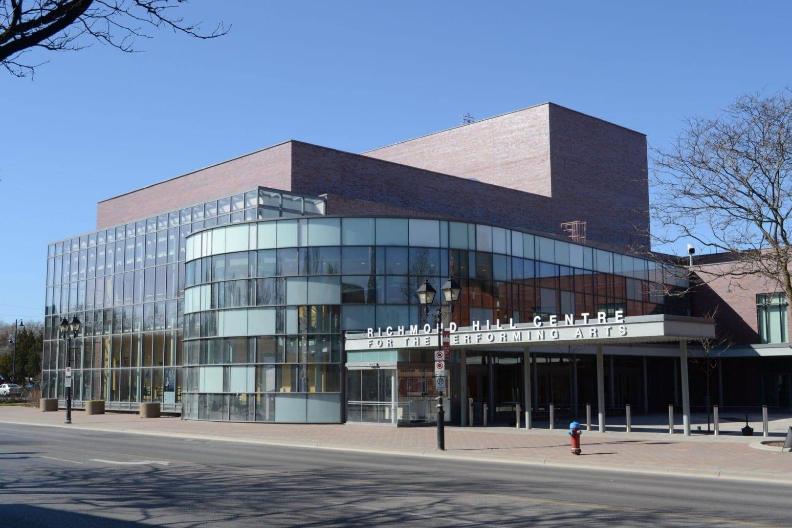 Centro de Richmond Hill para las Artes Escénicas Richmond Hill Canadá