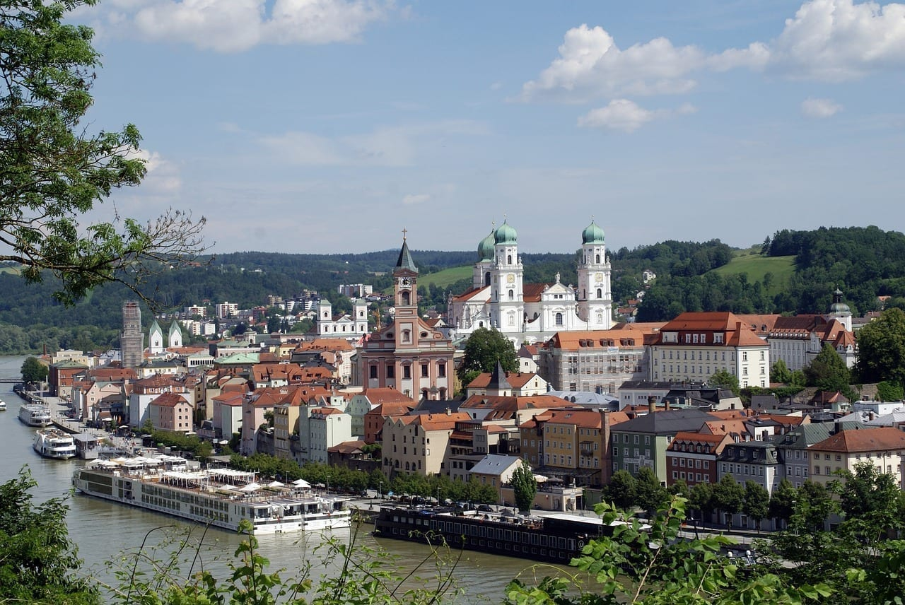 Centro Historico Passau Baviera Alemania