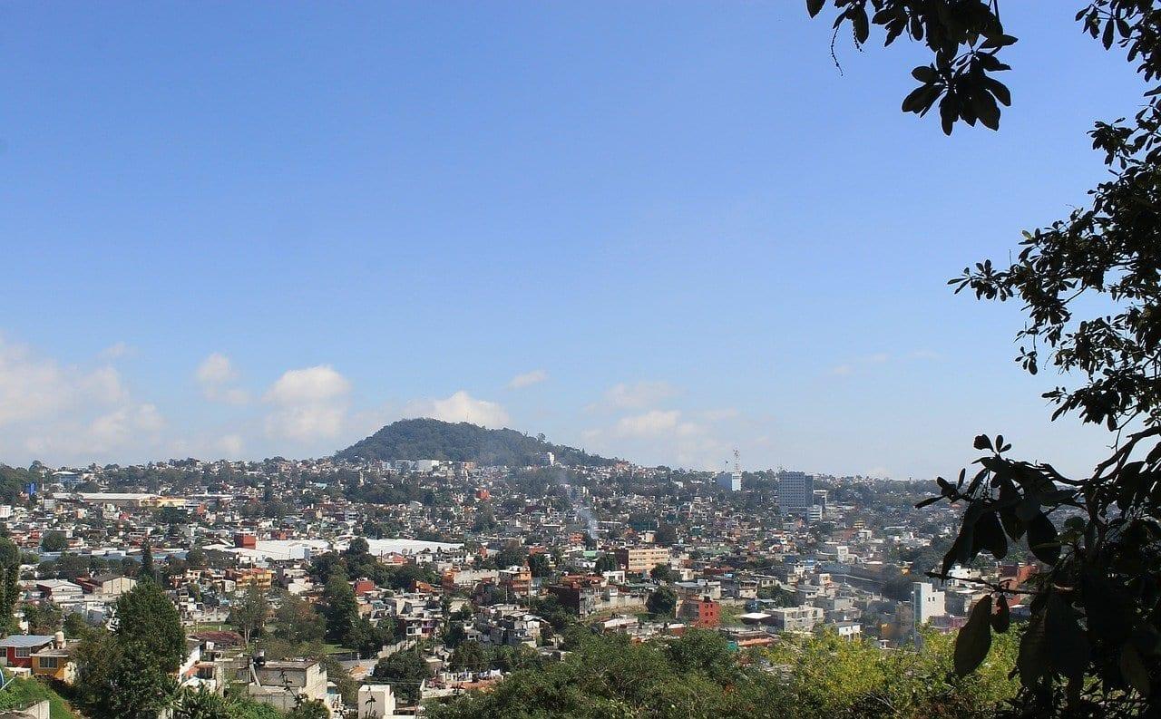 Cerro De Macuiltépetl Xalapa Veracruz México