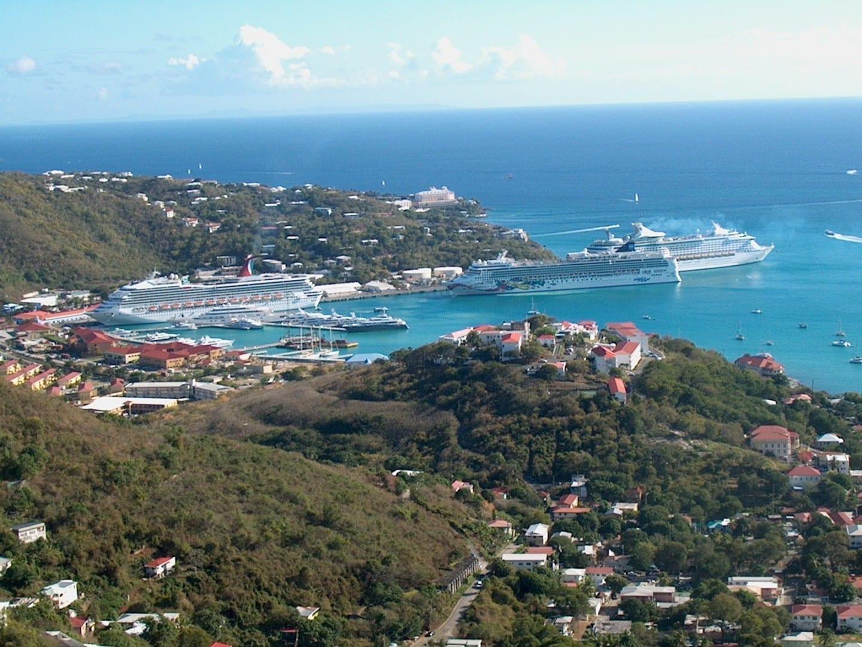 Charlotte Amalie Harbor Isla Saint Thomas Islas Vírgenes de los Estados Unidos