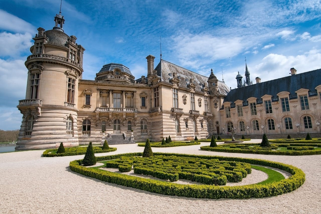 Chateau Chantilly Picardía Francia