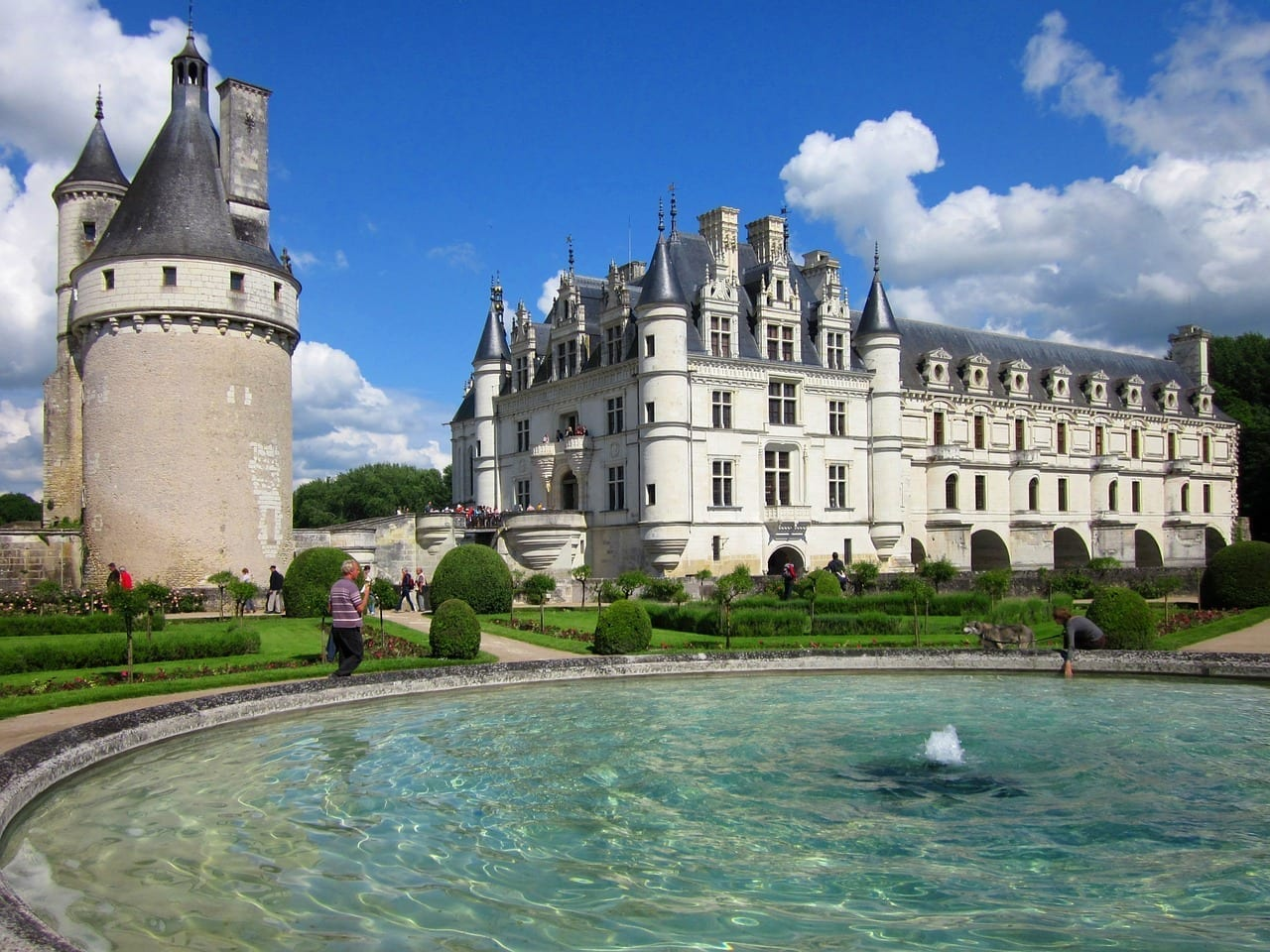 Chenonceau Loira Chateau Francia