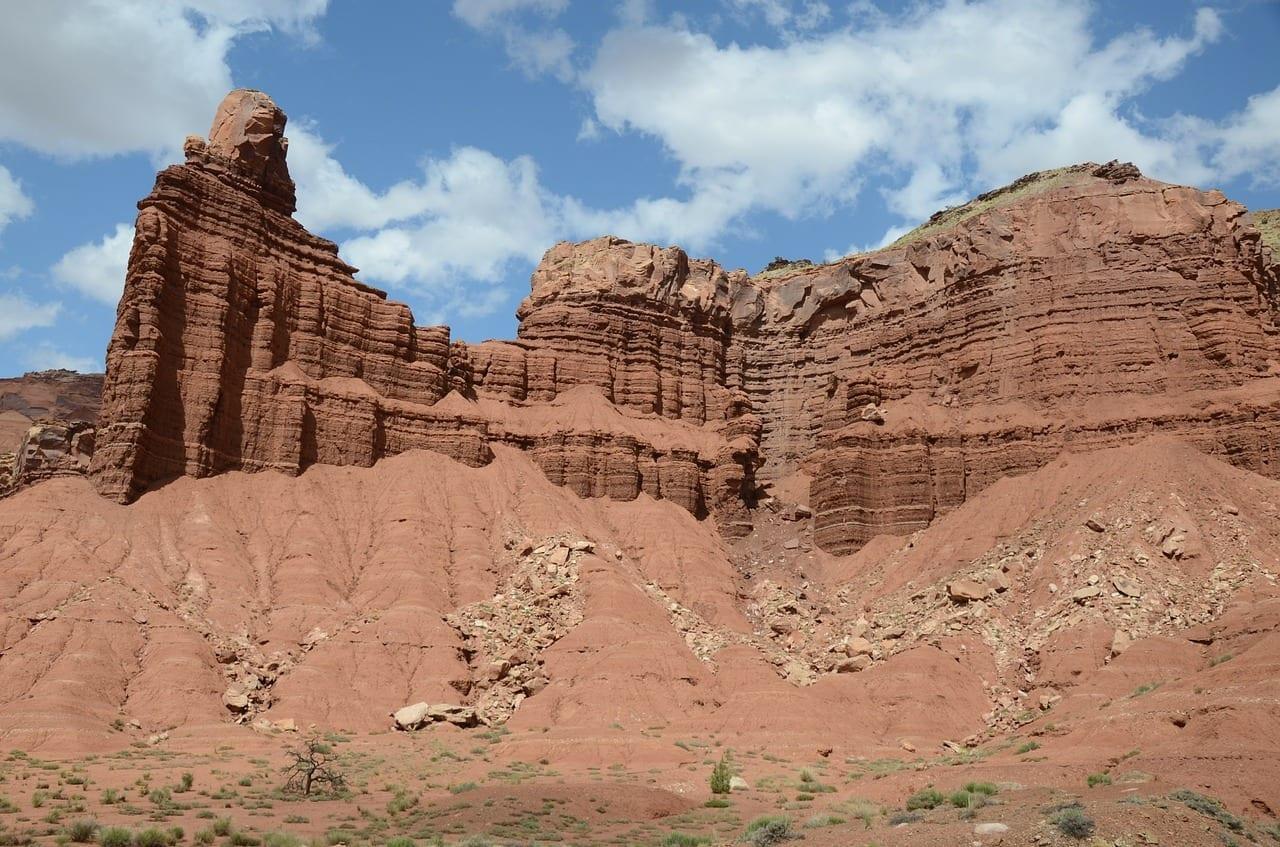Chimney Rock Utah Parque Nacional Capitol Reef Estados Unidos