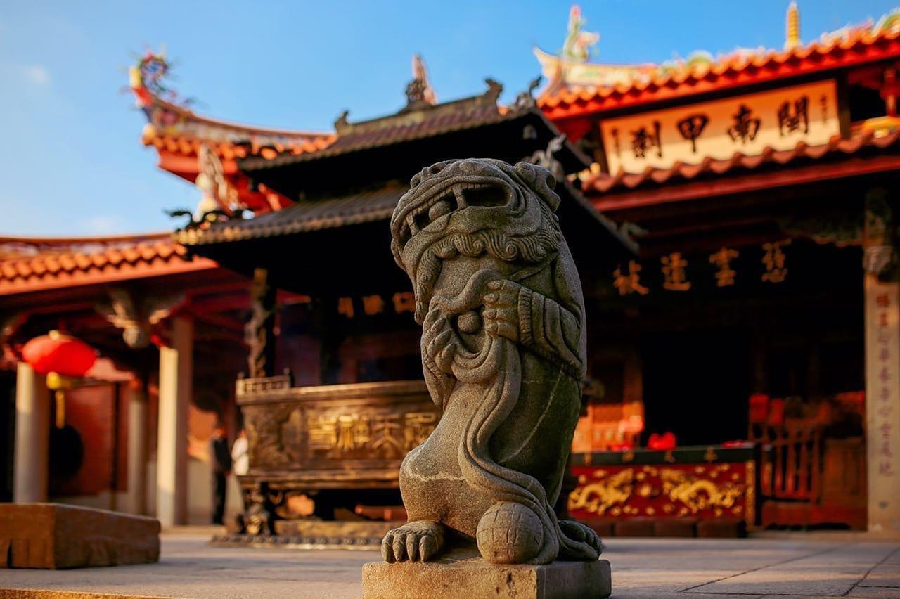 China Quanzhou Arquitectura Antigua China