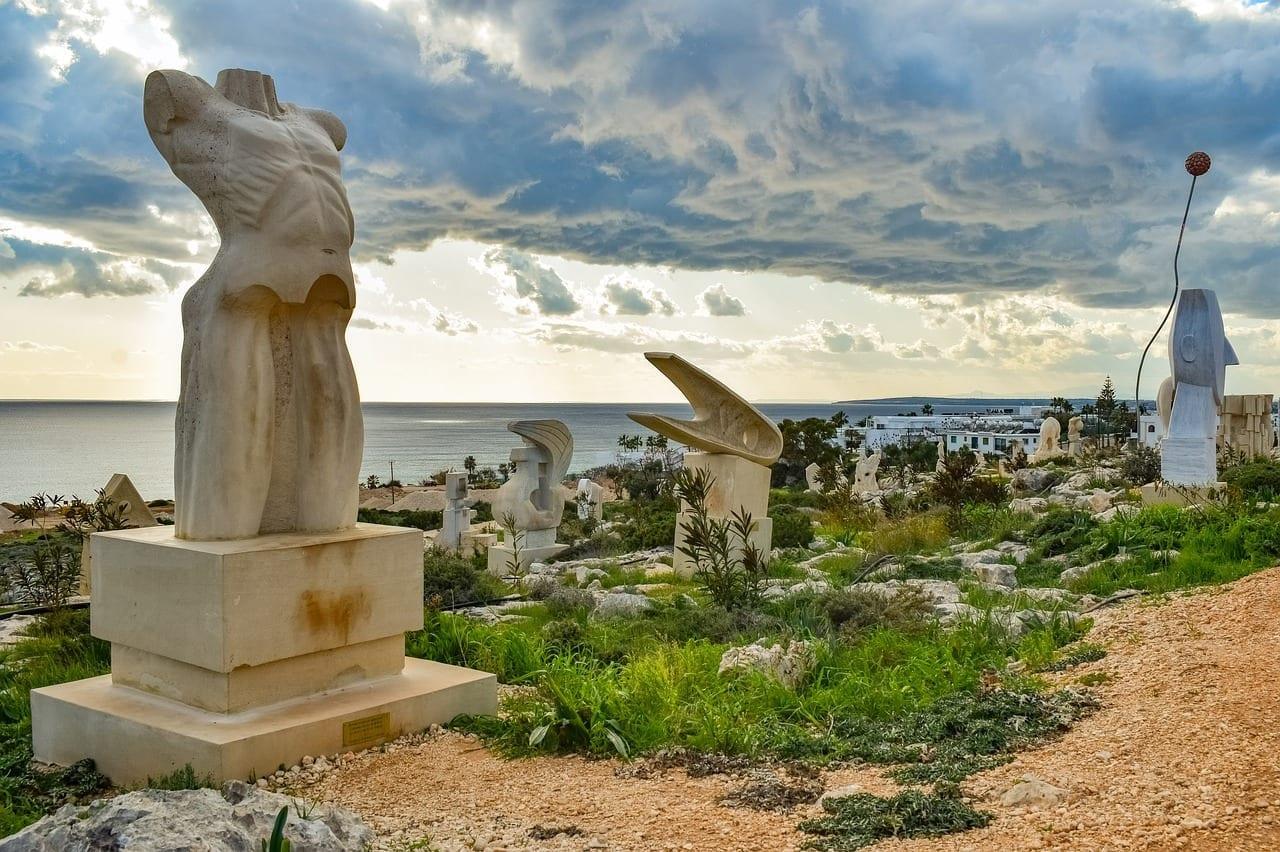 Chipre Ayia Napa Parque De Las Esculturas Chipre
