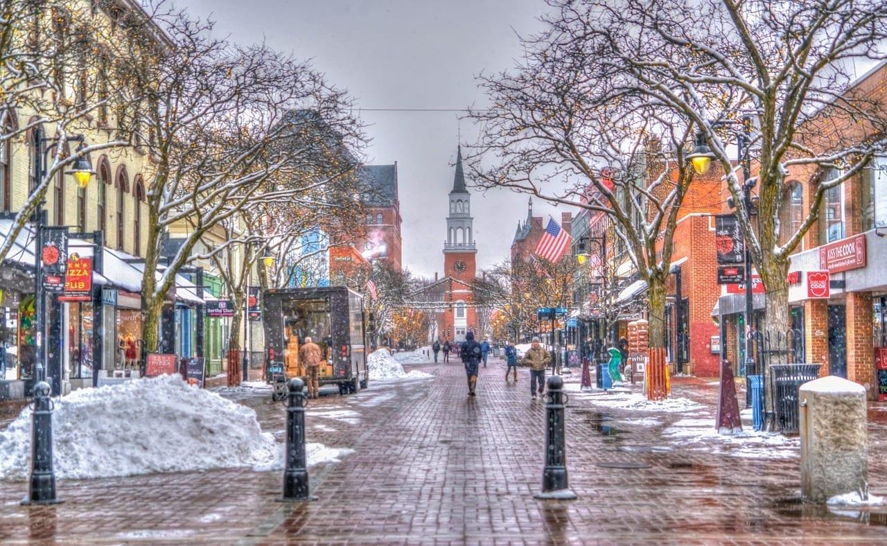 Church Street Burlington Vermont Canadá