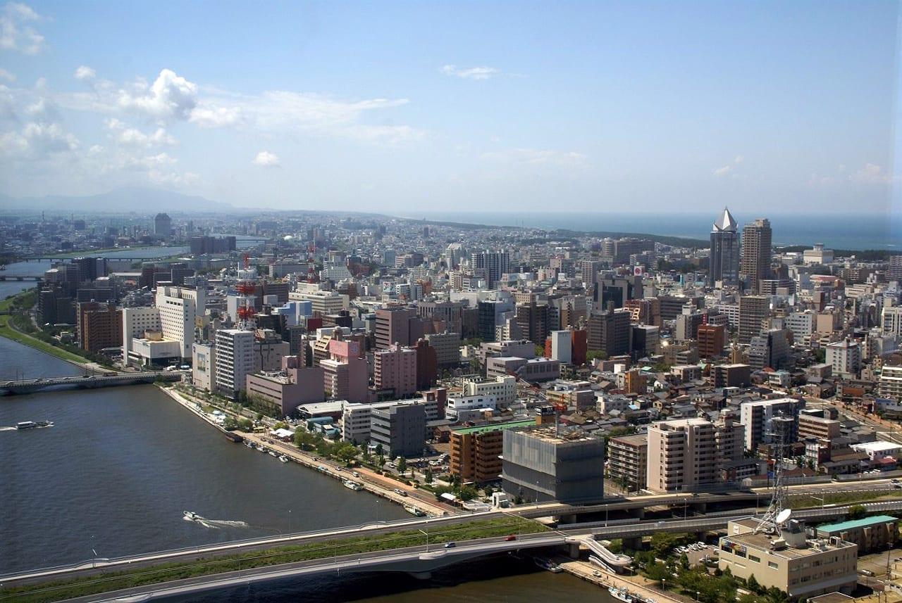Ciudad de Niigata Niigata Japón