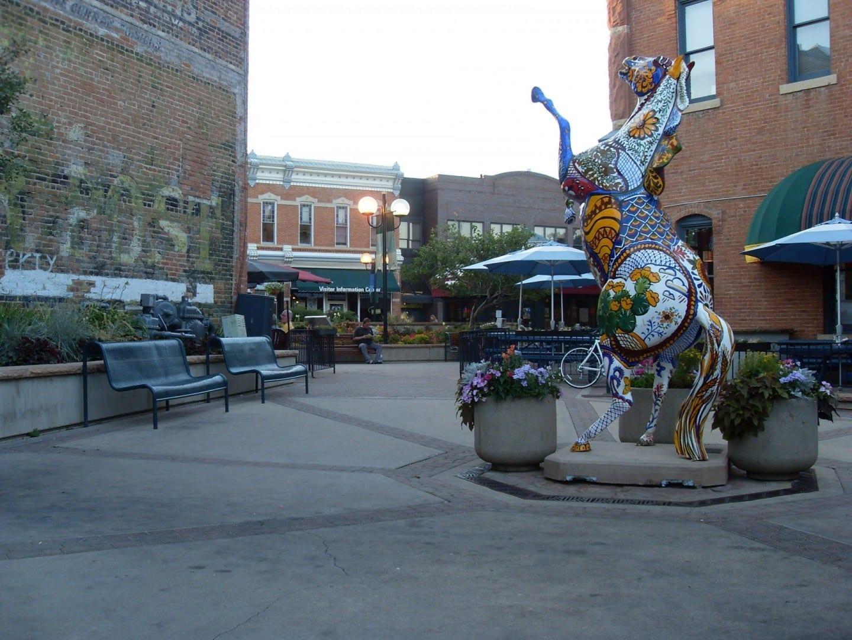 Ciudad Vieja de Fort Collins (Distrito Histórico) Fort Collins CO Estados Unidos