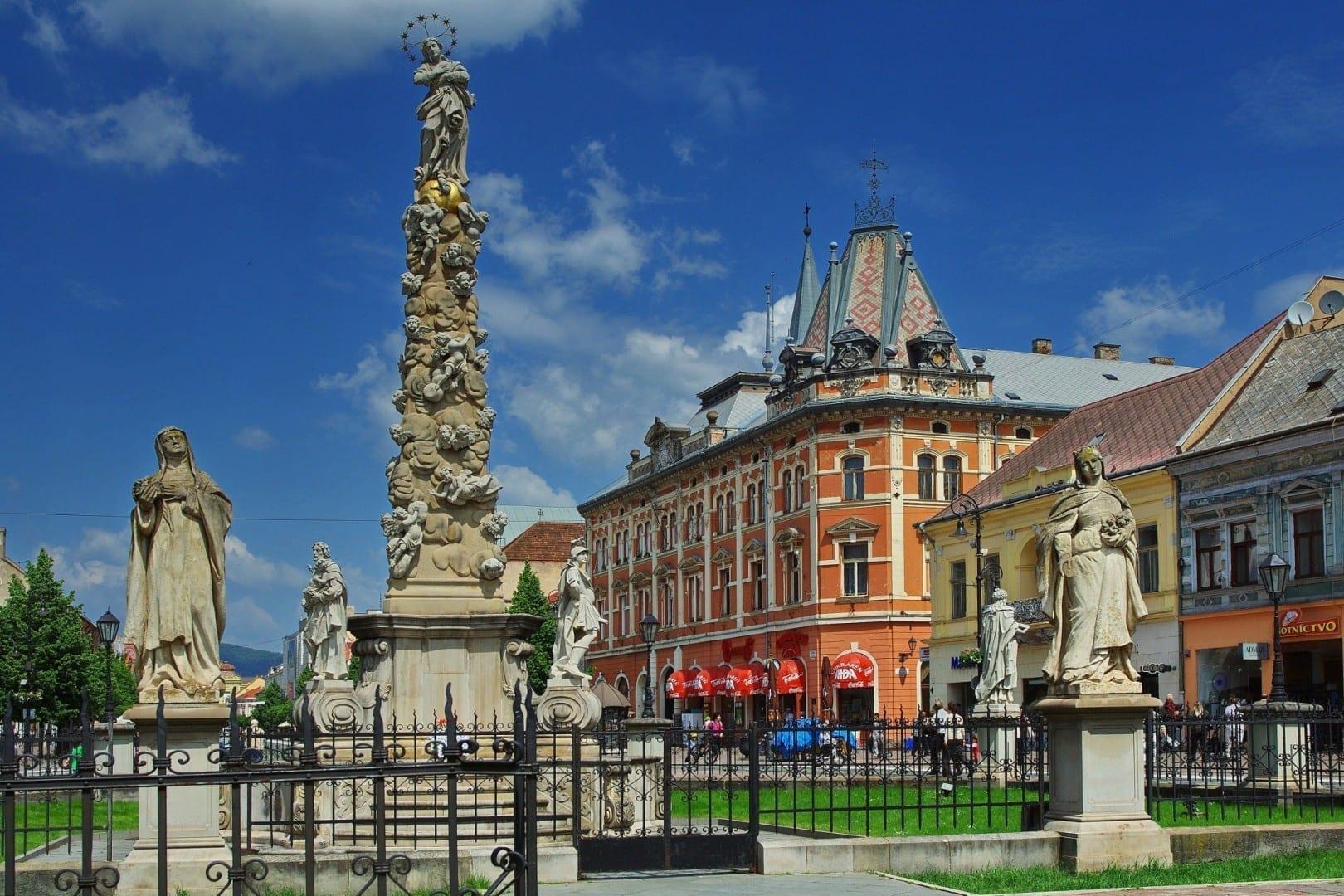 Columna de la plaga Košice República Eslovaca