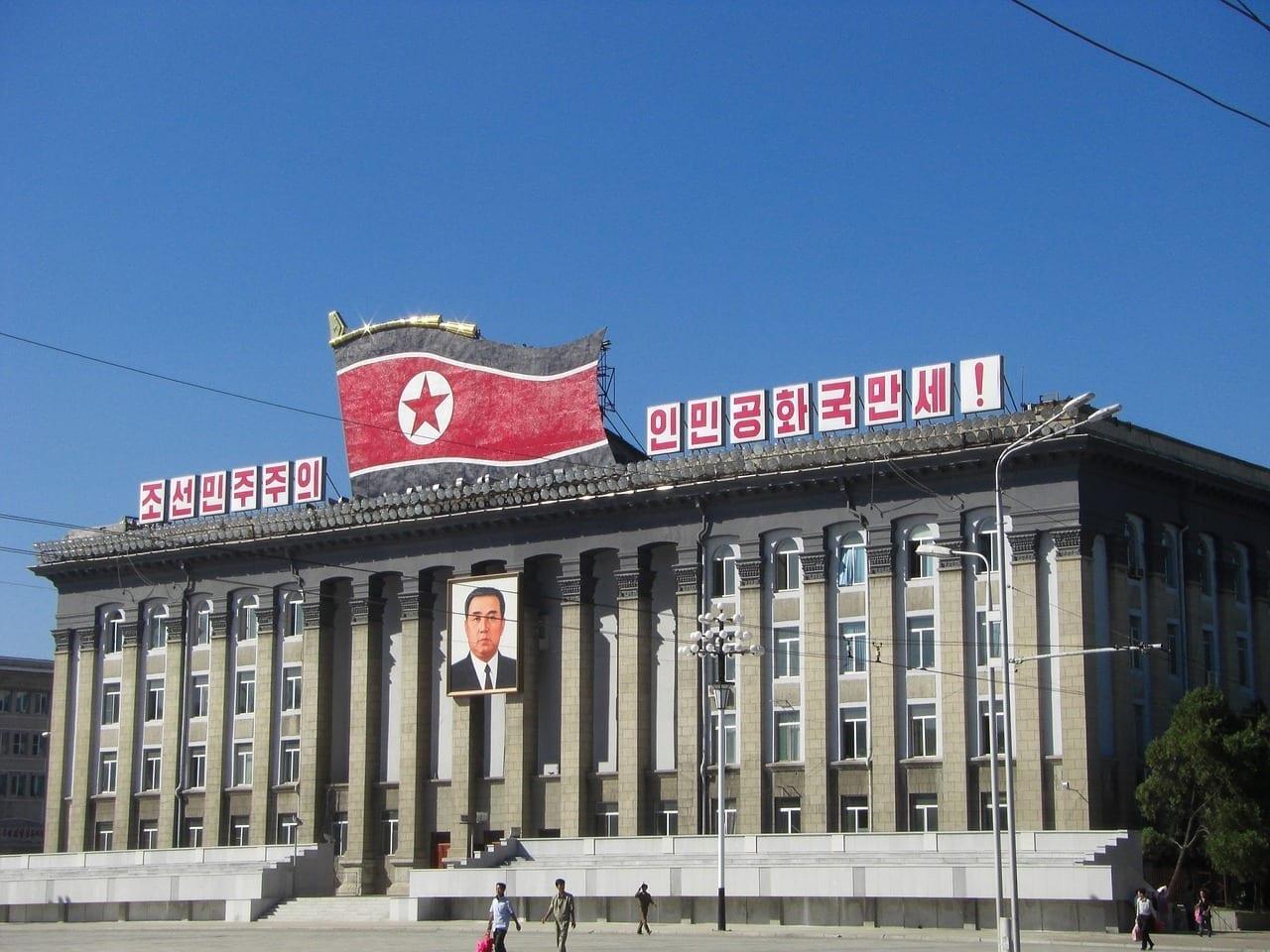 Corea Del Norte Pyongyang Edificio Corea del Norte