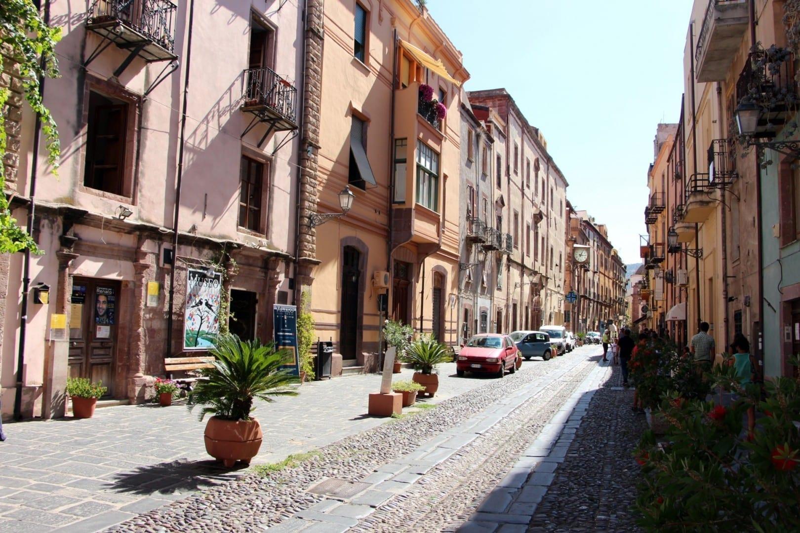 Corso Vittorio Emanuele II Bosa Italia