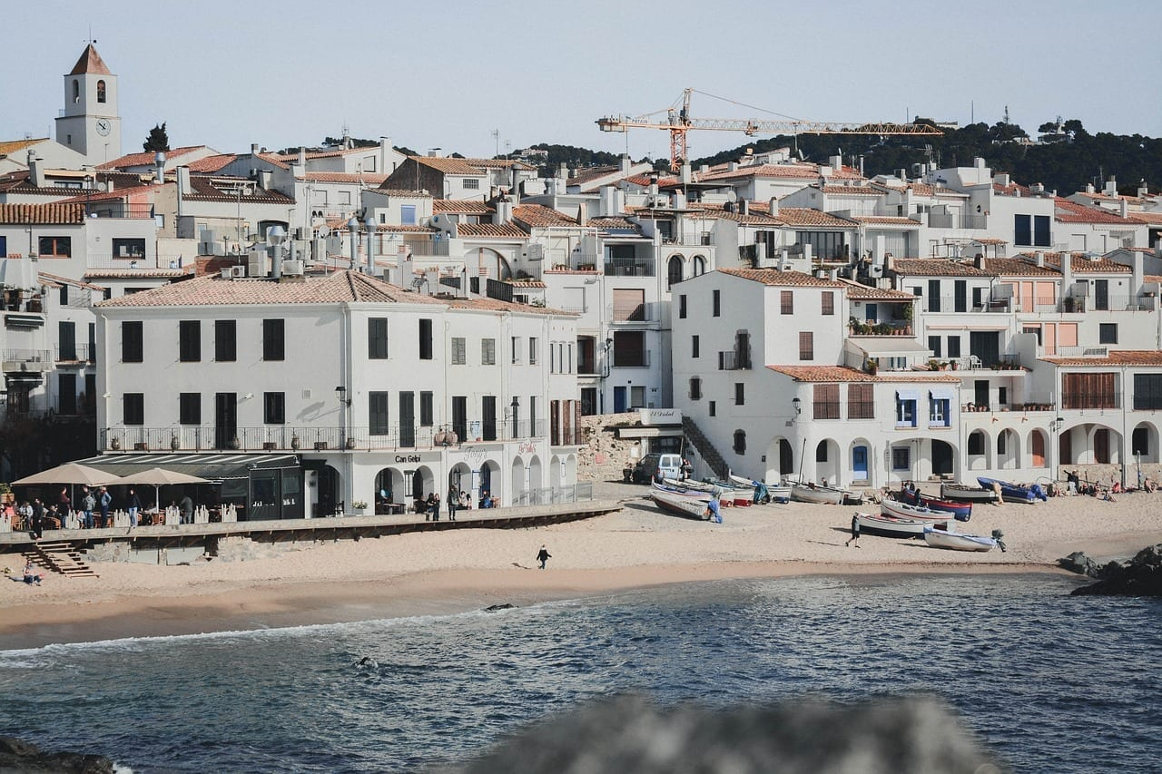Costa Brava Calella Mar España