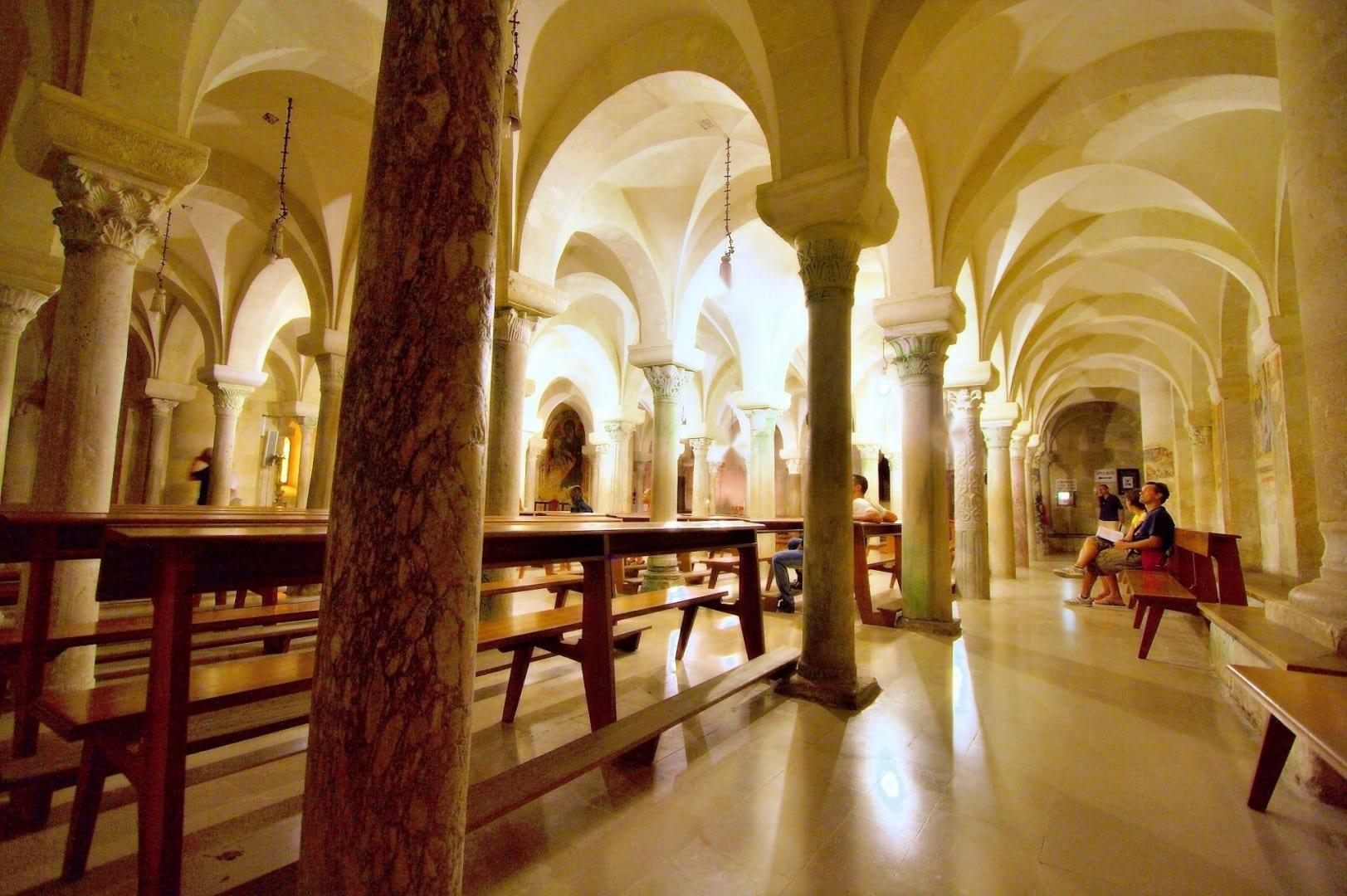 Cripta de la Catedral Otranto Italia